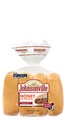 Johnsonville Honey Hot Dog Buns