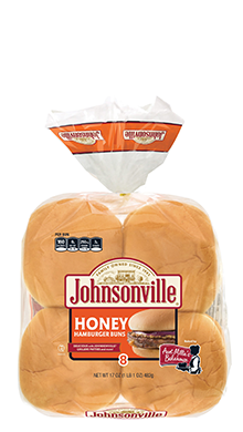 Johnsonville Honey Hamburger Buns