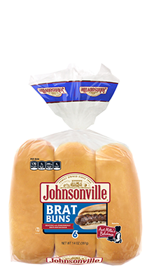 Aunt Millie's Bakehouse Johnsonville Brat Bun 18-6ct
