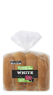 Honest to Goodness - Hot Dog Roll, White 15-8ct