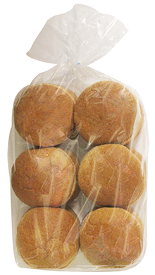 100% Whole Wheat Hamburger Bun 4