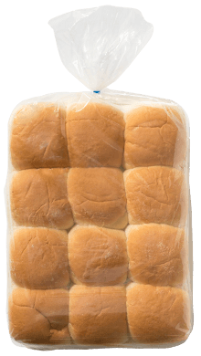 "Mini Hamburger Bun 2.5"" 8-24ct Packaged"
