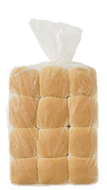 White Dinner Roll 1.34oz 8-24ct