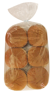 Whole Grain White Wheat Hamburger Bun 4