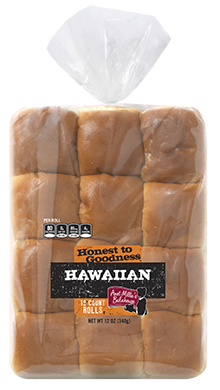 Honest to Goodness - Hawaiian Dinner Roll, 12-12 ct