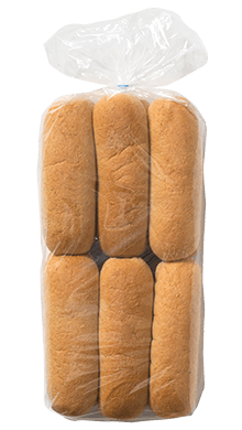 100% Whole Wheat Hot Dog Bun 2oz 12-12ct