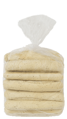 "Italian Breadstick 8"" 10-20ct Packaged"