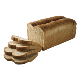 "County Mills Split Top Wheat Bread 1/2"" 16-20oz Sliced"