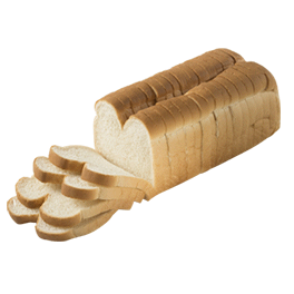 "County Mills Split Top White Bread 1/2"" 16-20oz Sliced"