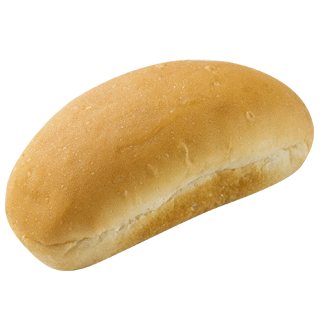 "Mini Hot Dog Bun 3.5"" 12-18ct Sliced 2"