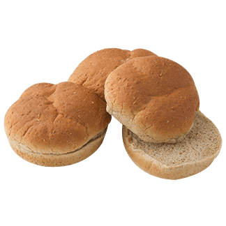 Honest to Goodness - Sandwich Roll, Whole Grain Wheat, 15-8ct Sliced