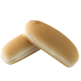 Honest to Goodness - Hot Dog Roll, White 15-8ct Sliced
