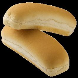 Organic Honey White Hot Dog Buns 15-8ct Sliced