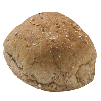 Pull-Apart Dinner Roll Cracked Wheat .875oz 12-16ct Sliced 2