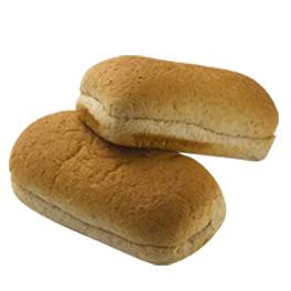 """Whole Grain Sliced Sub Bun 5"""" 12-8ct Sliced"""