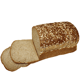 "High Crown Wheatberry Bread 3/4"" 8-22oz Sliced"