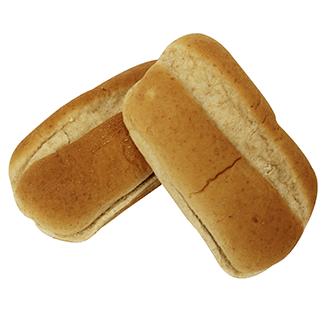 """Whole Grain White Wheat Sliced Sub Bun 5"""" 12-8ct Sliced"""