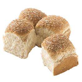 Whole Grain Dinner Roll Honey Wheat 1 oz 10-12ct Sliced