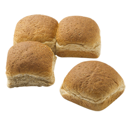 Whole Grain Dinner Roll 1.34oz 8-24ct Sliced