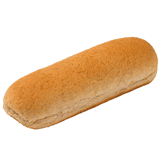 "100% Whole Wheat Hot Dog Bun 6"" 2oz 12-12ct Sliced 2"