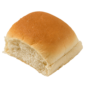 "Mini Hamburger Bun 2.5"" 8-24ct Sliced 2"