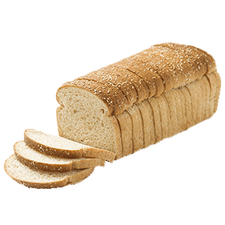 "Lite Whole Grain Bread 1/2"" 16-20oz Sliced"