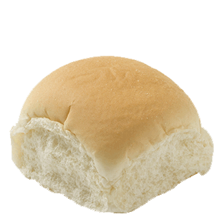 White Dinner Roll 1.34oz 8-24ct Sliced 2