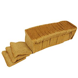 100% Whole Wheat Pullman Bread 30ct 12-22 oz Sliced