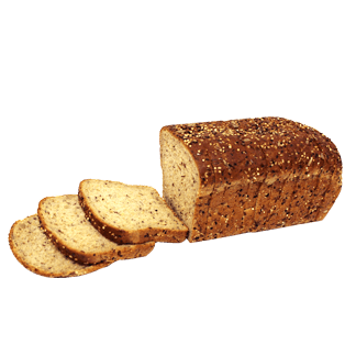Organic Seedful Bread, 10-18oz Sliced