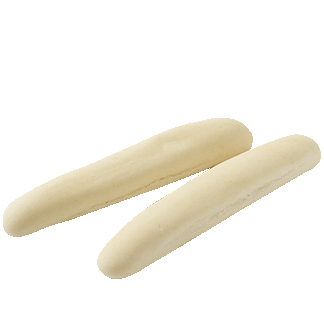"Plain Breadstick 8"" 10-20ct Sliced"