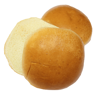 "Brioche Hamburger Bun 4"" 10-12ct Sliced"