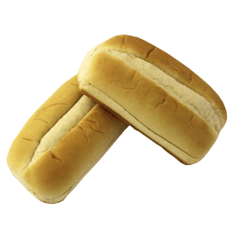 "White Sliced Sub Bun 5"" 12-8ct Sliced"