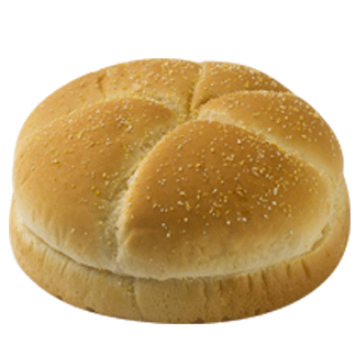 "Kaiser Bun 4"" 10-12ct Sliced 2"