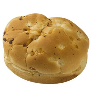 "Onion Hamburger Bun 4.5"" 8-12ct Sliced 2"