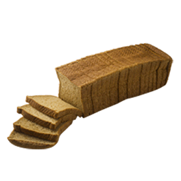 "100% Whole Wheat Bread 1/2"" 12-22oz Sliced"
