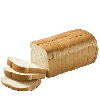 "White Bread 3/4"" 7-32oz Sliced"