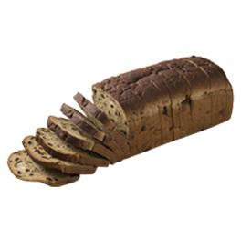 """Raisin Bread 1/2"""" 7-32oz Sliced"""