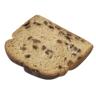 """Raisin Bread 1/2"""" 7-32oz Sliced 2"""