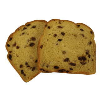 "Raisin Bread 3/4"" 7-32oz Sliced 2"