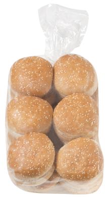 Double Decker Seeded Hamburger Bun 4