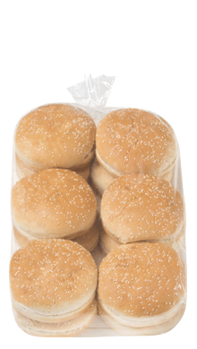 Seeded Hamburger Bun 5