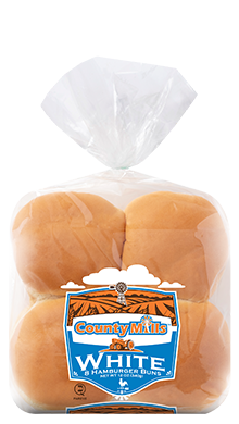 County Mills Hamburger Bun 3.5