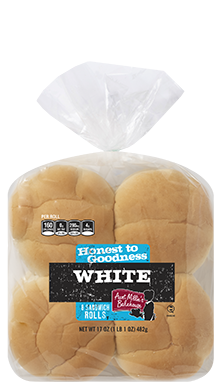 Honest to Goodness - Sandwich Roll, White, 15-8ct