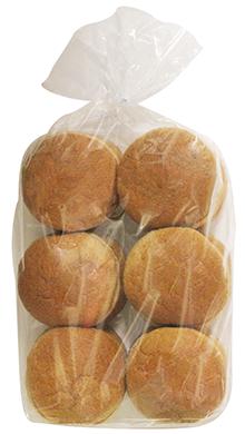 100% Whole Wheat Hamburger Bun 4