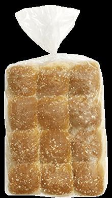 Whole Grain Dinner Roll Honey Wheat 1 oz 10-12ct