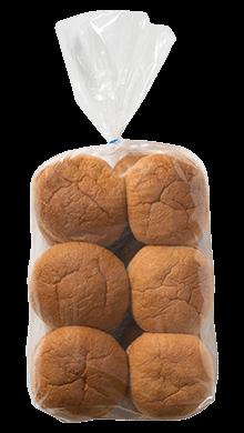100% Whole Wheat Hamburger Bun 3.5