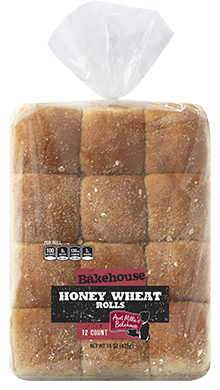 Honey Wheat Roll, 12-12ct