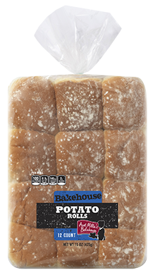 Potato White Roll, 12-12ct