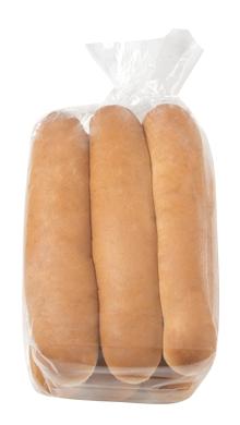 Footlong Hot Dog Bun 12