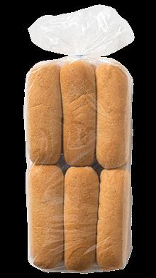 100% Whole Wheat Hot Dog Bun 2oz 12-12ct